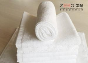 China Small Hand Towels For Bathroom , Embroidered Hand Towels With Different GSM on sale