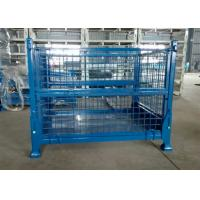 Portable Warehouse Storage Cages On Wheels Customized Sizes / Colors