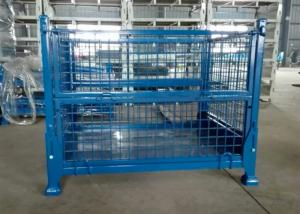 China Portable Warehouse Storage Cages On Wheels Customized Sizes / Colors on sale
