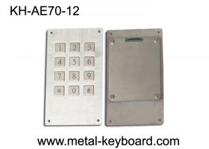 China IP65 Rated Weatherproof 12 Keys Numeric Door Entry Keypad with 3 x 4 Matrix on sale