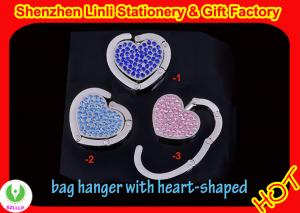 China 2011 hot Folding metal crystal hand bag hangers Promotional Gifts on sale