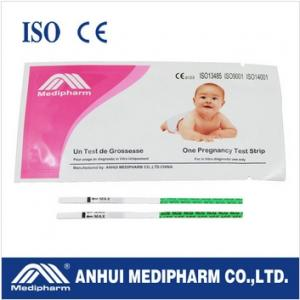China CE ISO certified HCG Pregnancy Test Strip on sale
