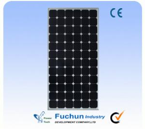 China Anodized Aluminum Frame Solar Power Panel, Monocrystalline Solar Panel For Home Use on sale
