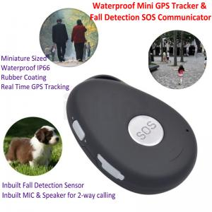 China Mini Waterproof 3G GSM Personal GPS Tracker Locator Elderly Fall Detection SOS Communicator Alzheimer Keyring EV07 on sale