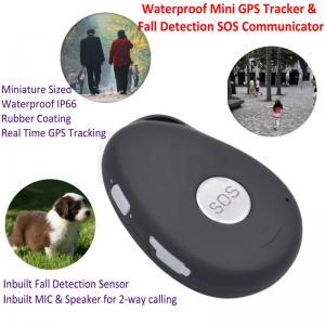 China Mini Waterproof 3G GSM Personal GPS Tracker Locator Elderly Fall Detection SOS Communicator Alzheimer Keyring EV07 on sale