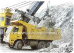 Rated load 50 tons Off road Mining Dump Truck Tipper  drive 6x4 with 32 m3 body cargo Volume
