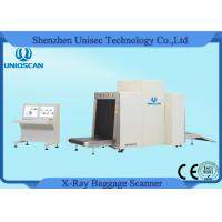 Dual View X-ray Baggage Inspection System X-Ray Baggage Scanners 800*650mm Tunnel