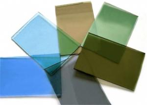 China Decorative Tinted Float Glass 3mm - 12mm Thickness For Window / Door on sale