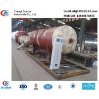 China bottom price 10tons mobile skid lpg gas station for filling gas cylinders for sale, 25CBM skid lpg gas refilling plant on sale