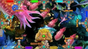 China Magical Ocean Skilled Fish Arcade Game Software Amusement Fish Gambling Machine on sale