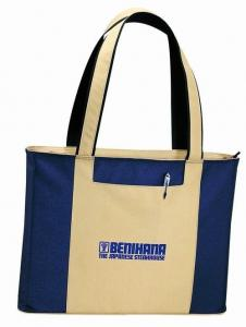 China Eco Friendly Travel Storage Nylon Tote Bags With Outside Two Pockets on sale
