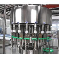 Automatic Oil Bottling Machine 220V / 380V Voltage PLC Control High Precision