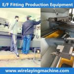 pe coupling wire laying machine cx-32/160zf , cx-315/630zf wire laying machine