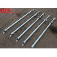 Zinc Plated Screw Jack Shoring Posts For Formwork Wall Bracing 2700mm / 4000mm