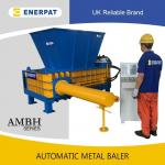 Automatic aluminum can baler for sale/UBC baler with CE