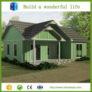 China Superior quality prefab luxury best design vacation villa architectural design on sale