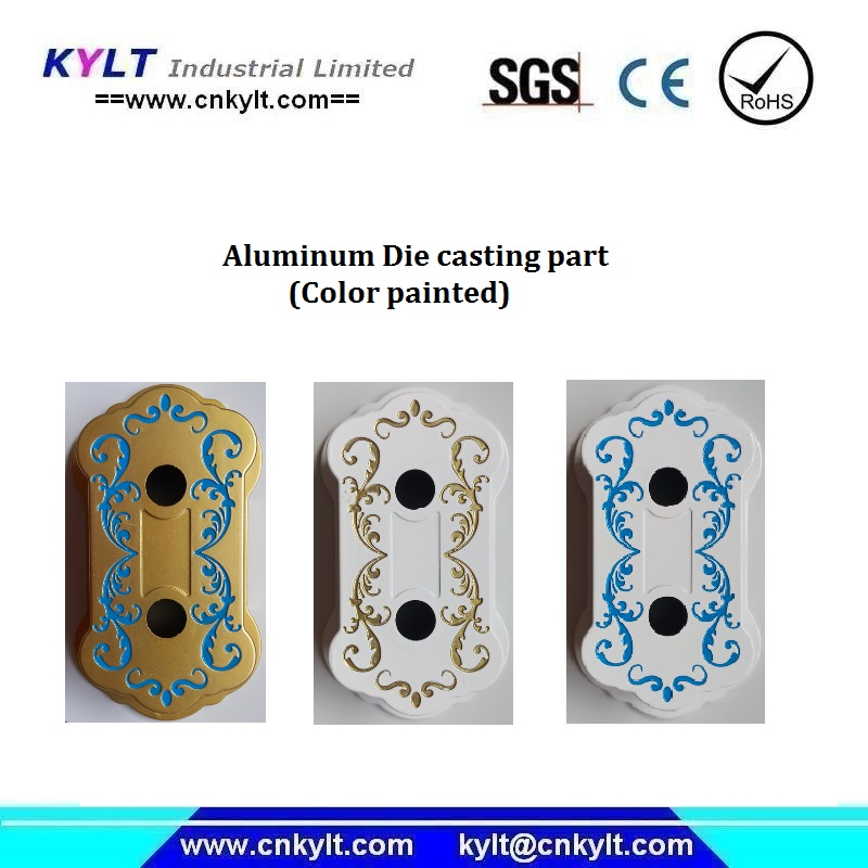 multi colors die casting parts