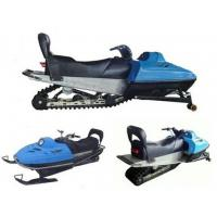 Yamaha 400CC Snow motorcycle Snow motorbike Blue Snowmobile For Men / Women , Modern Snow Scooter