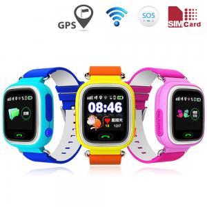 China LBS WIFI Kids Smart GPS Watch , Wrist Watch GPS Tracking DeviceTFT Display on sale
