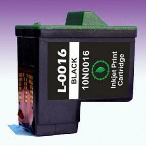 China Remanufactured Lexmark Ink Cartridge 10N0016, Suitable for inkjet Printer on sale