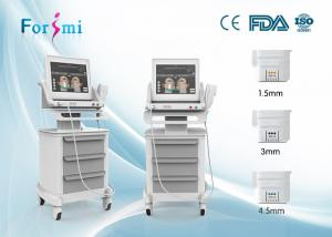 China good feedbacks especially from older people young face again accurate energy reach hifu facial lift machine forimi on sale