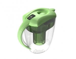 China Portable Alkaline Water Pitcher green With Energy And Filter on sale