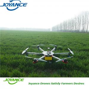 High pressure nozzles spraying drone agriculture UAV sprayer with