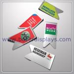 Metal Paper Clip, Comes in Standard Styles with Printed Logo