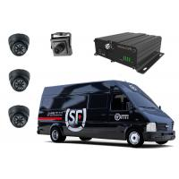 Dual Stream AHD Mobile DVR With Remote Control / Online Monitoring Fleet Management