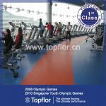 PVC Sports Flooring for Gym Fitness Equipment Flooring