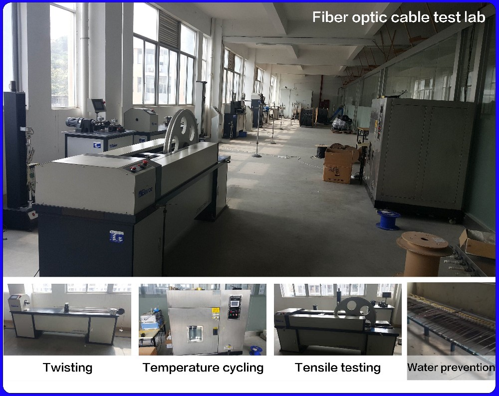 4 Core Fiber Optic Cable Armoured Aerial Fiber Cable 1km Price GYXTW