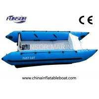 China Safety Durable Marine 4.1m High Speed Inflatable Boats With CE Certificate on sale