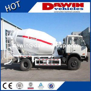 China 4*2--3m3 4m3 6m3 LHD or RHD Concrete Mixer Truck For Sale on sale