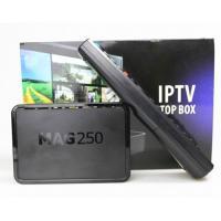 Mag 250 Linux HD IPTV Set Top Box Processor STI7105 Ram 256MB H.264 Support Wifi