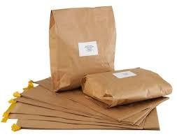 China Brown HDPE 10x13 inches Eco Friendly Shipping Bags on sale