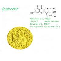 Dihydrate 95.0% HPLC Yellow Organic Quercetin Powder Weight Loss use