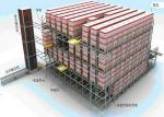 China Shuttle Racking System AGV Automated Guided Vehicle Integration High Accuracy wholesale