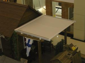 China Modern design remote control skylight awning/conservatory canopy/motorized sunroom roof awning on sale