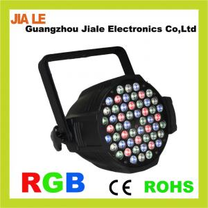 China High Power Aluminum 50 / 60HZ, G18 / B18 / W6 DMX Led Stage Lighting Systems on sale