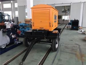China Haute pression générateur diesel monté par remorque de 120 kilowatts avec le radiateur à hautes températures on sale