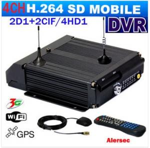 China AH3000 4CH SD 3G,GPS WIFI optional and G-sensor Mobile DVR back up view CCTV security on sale