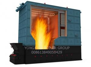 China 3500kw Oil Fired Thermic Fluid Heater Hot Oil System With Hot Oil Recycle Pump on sale