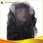 Perruques de cheveux de 1# Deepwave pour des femmes 22 pouces avec la dentelle transparente