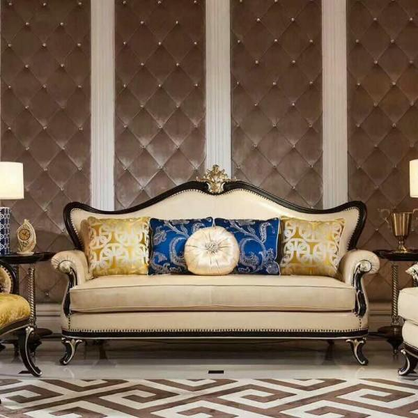 Wooden Carved Luxury Home Furniture