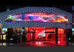 Indoor Fixed Transparency LED Display Glass Wall IP30 With 480*320 LED Module