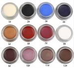 Waterproof Eye Makeup Eyeliner Gel High Pigment 12 Colors Easy To Grip Slim Design