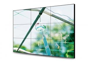 China High Definition LCD Wall Display , Ultra Thin Bezel Video Wall Wide Viewing Angle on sale