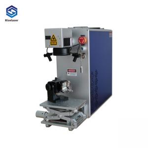 China High Precision Fiber Laser Metal Engraving Marking Machine 30w 50w CE Certificated on sale