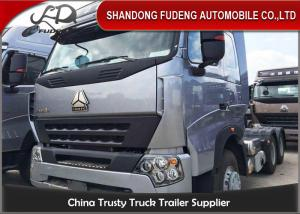 China 6 X 4 Drive HOWO Tractor Head Trucks 309KW Power Max.Speed 92km/h on sale