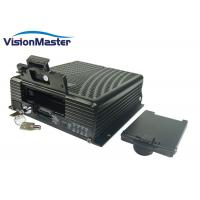 China 3G WIFI HDD Mobile Dvr , 4Ch GPS Mobile DVR Digital Video Recorder Aviation Connector on sale